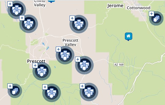 search tool for prescott houses for sale