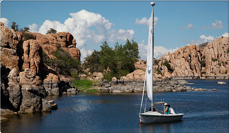 photo of watson lake in prescott, arizona
