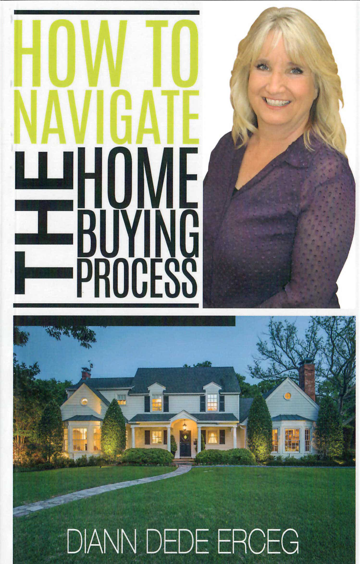 the process of buying a house book cover graphics